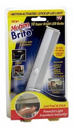 Беспроводной светодиодный светильник с датчиком движения Motion Brite