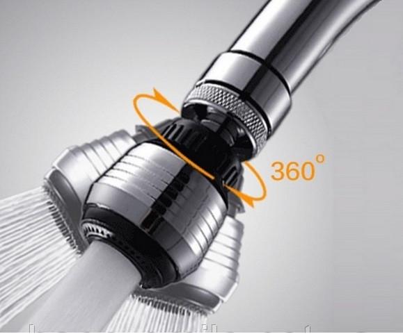 Вращающаяся насадка на кран для экономии воды Water Saver