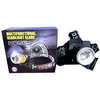 Многофункциональный налобный фонарик Bailong BL-T907-T6