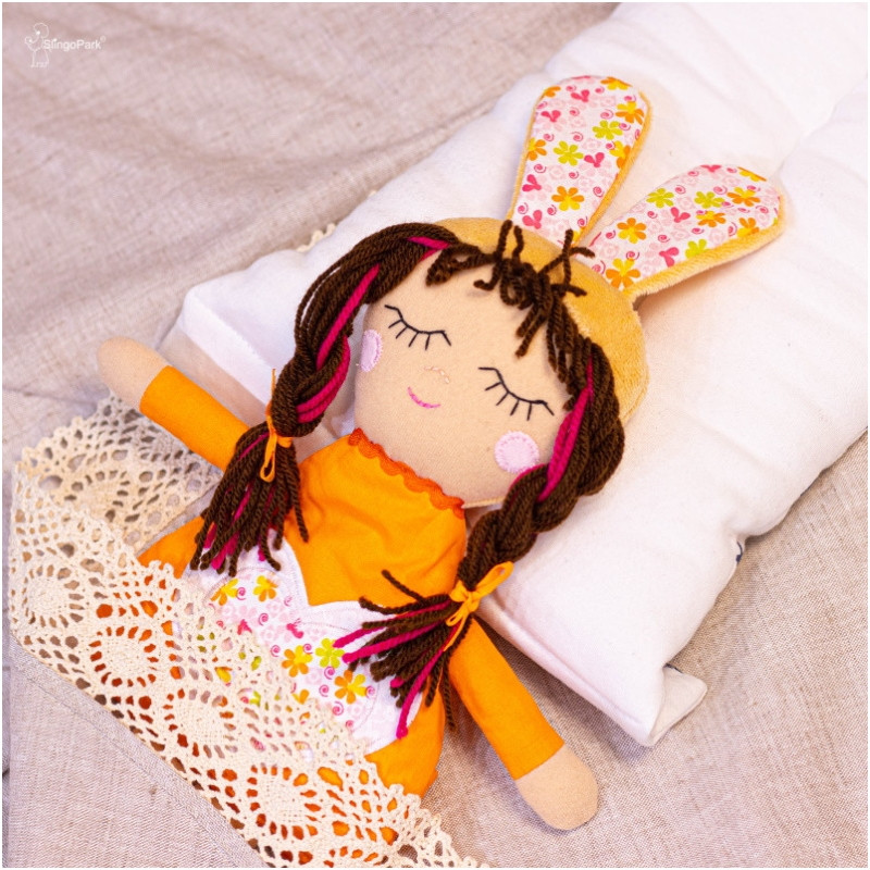Кукла-грелка SLINGOPARK «Нина Зайченко» Orange