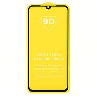 Защитное стекло 9D для Xiaomi Mi Play - черный
