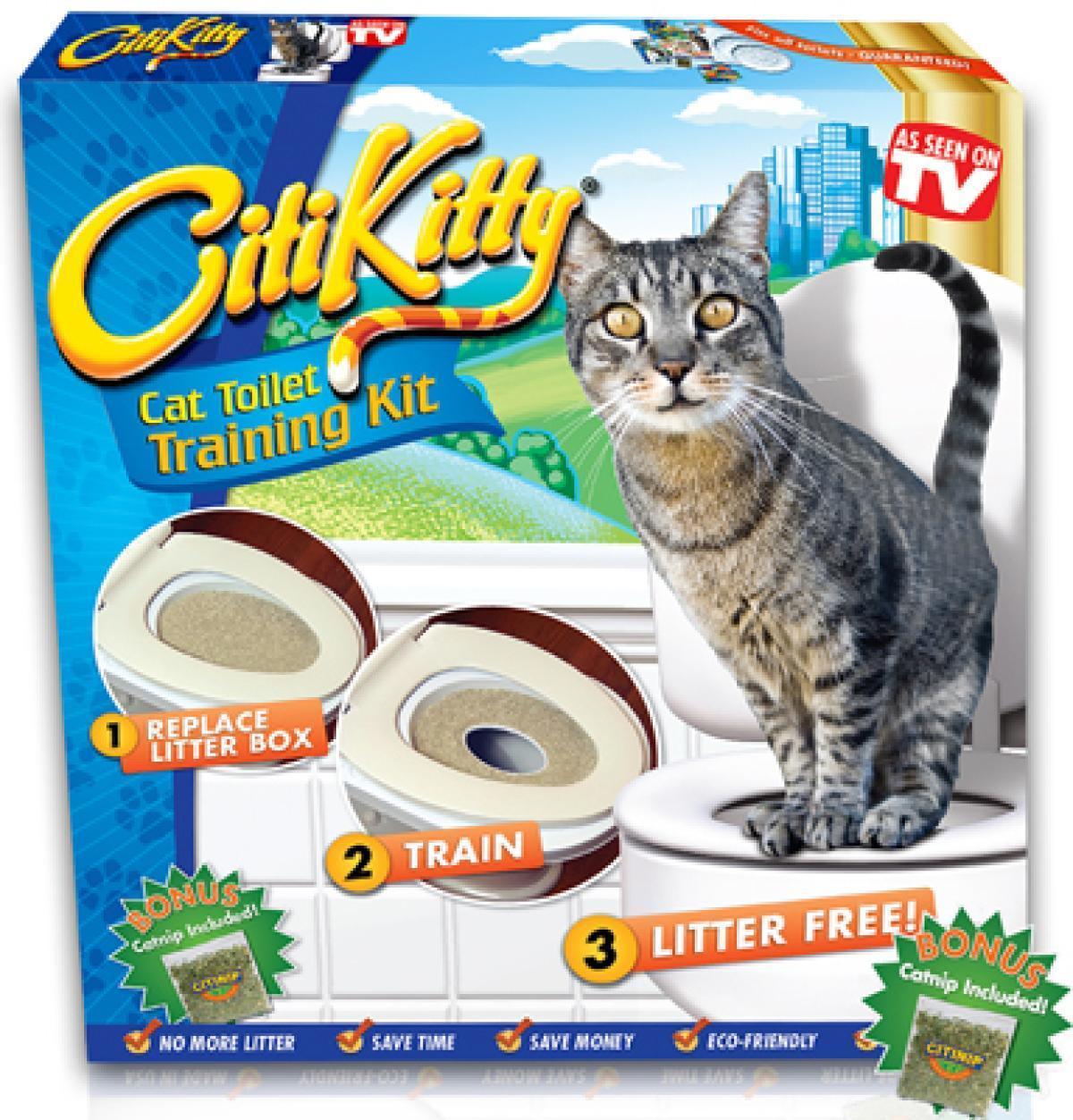 Система приучения кошек к унитазу Citi Kitty Cat Toile