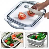 Доска-миска разделочная складная универсальная Kitchen Craft 171878