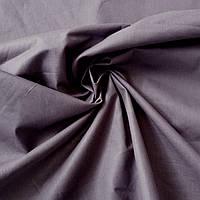Бязь однотонная антрацит (тёмно-серая), ширина 160 см, фото 1
