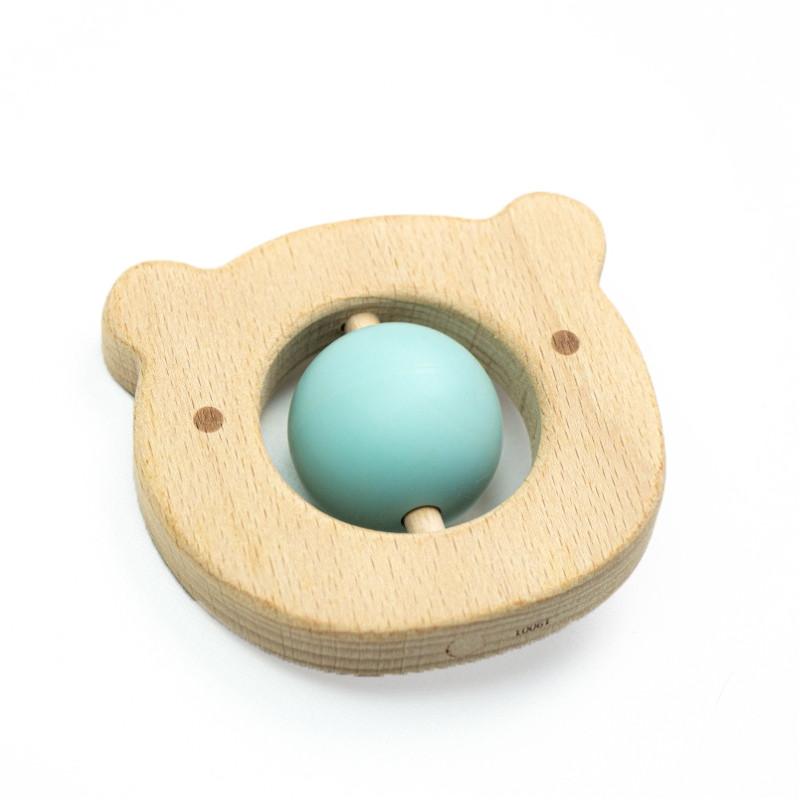 Прорізувач для зубів SLINGOPARK «Деревинка Ведмедик»