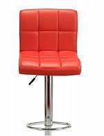 Высокий барный стул Hoker Monro красный