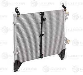 Радиатор кондиционера SsangYong Rexton (02-) 2.3i (LRAC 1752) Luzar68400081006840008020
