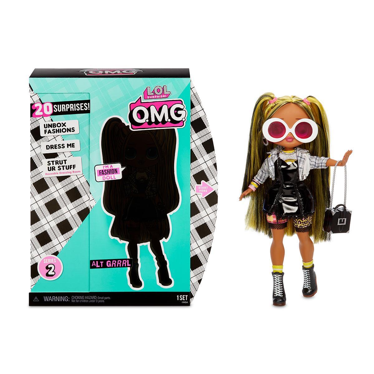 """Ігровий набір з лялькою L. O. L. SURPRISE! серії O. M. G"""" S2 - ТЕХНО-ЛЕДІ"""" 565123"""