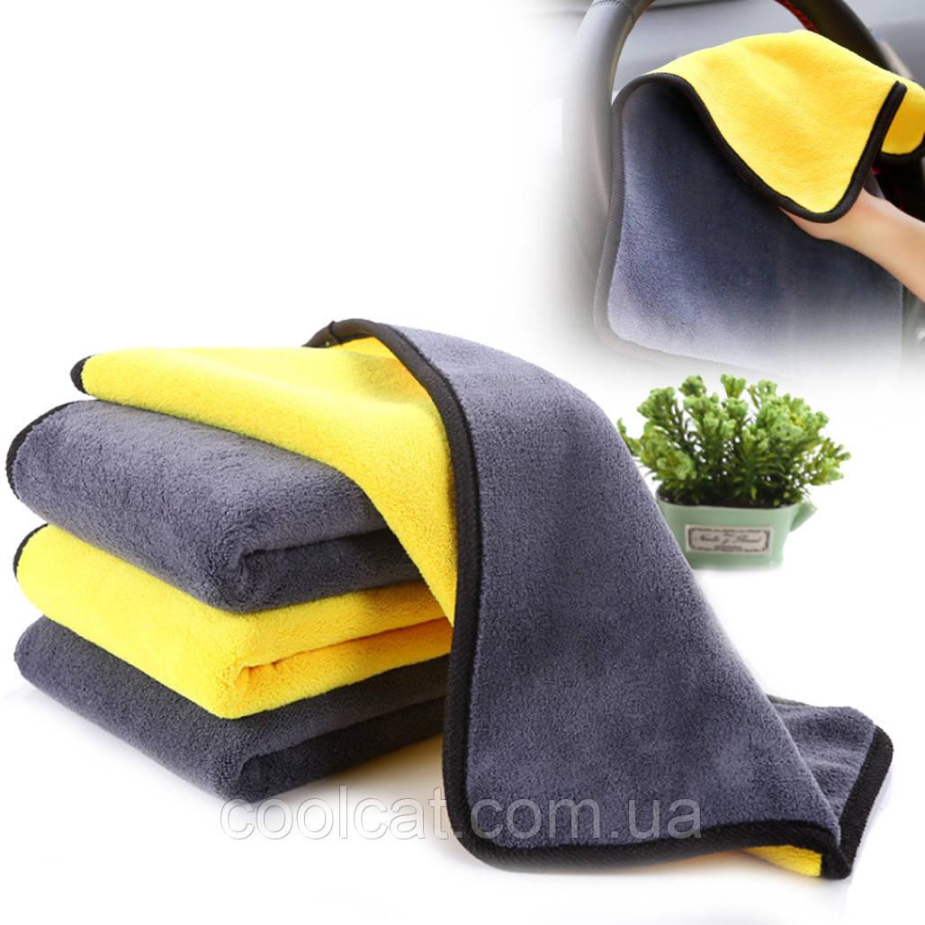 Полотенце, тряпка из микрофибры для авто / Салфетка для полировки автомобиля / Микрофибра