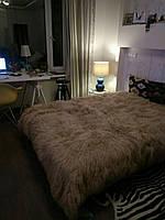Покривало з натурального хутра лами, фото 1