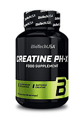 Буферизованный креатин BioTech Creatine pH-X (90 капс) биотеч