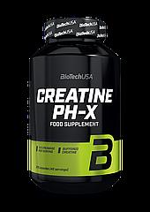 Буферизованный креатин BioTech Creatine pH-X (210 капс) биотеч