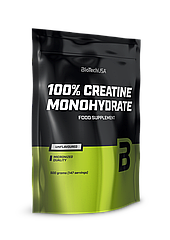 Креатин моногидрат BioTech 100% Creatine Monohydrate пакет (500 г) биотеч unflavored