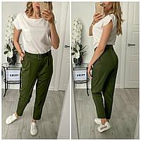 Костюм женский летний с брюками в расцветках 52408, фото 1