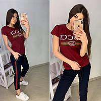 Женская легкая футболка Gucci S/M/L/XL, фото 1