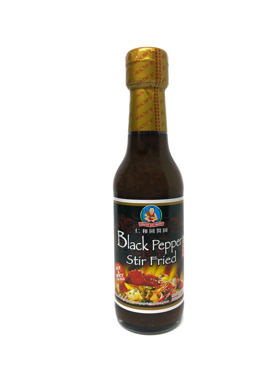 "Соус с черным перцем ""Healthy Boy"" (Black Pepper) 250 мл."
