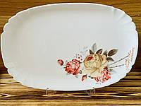 Блюдо овальное Luminarc Lotusia Роза 34 см 2352L
