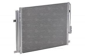 Радиатор кондиционера с ресивером Hyundai Santa Fe (12-) 2.0CRDi/2.2CRDi МКПП/АКПП LRAC 0821 Luzar 976062W000