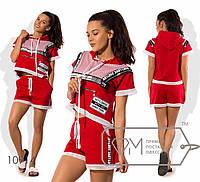 """Стильный женский костюм """"Шорты+Футболка""""  Dress Code, фото 1"""