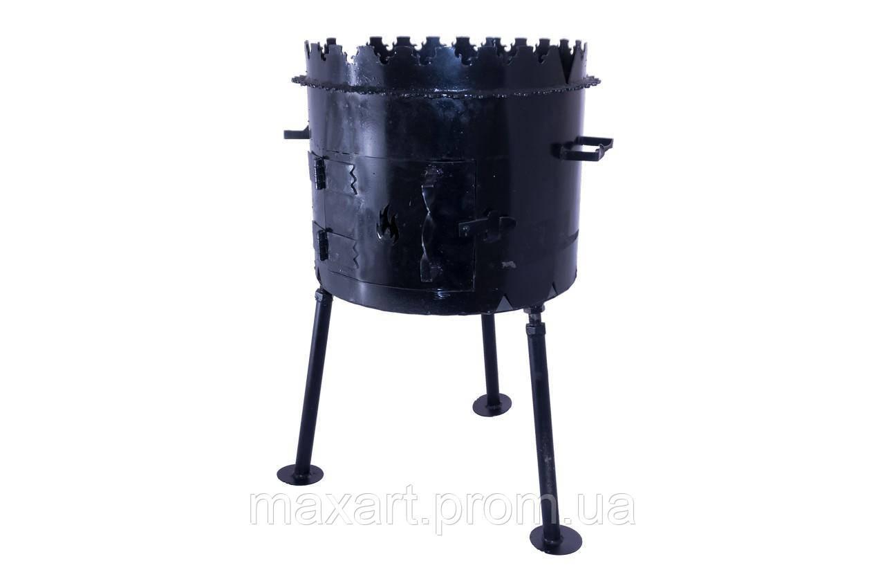 Мангал складной DV - 450 x 350 x 3 мм, горячекатаный