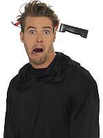 Обруч на голову на Хелоуин Нож в  голове , фото 1