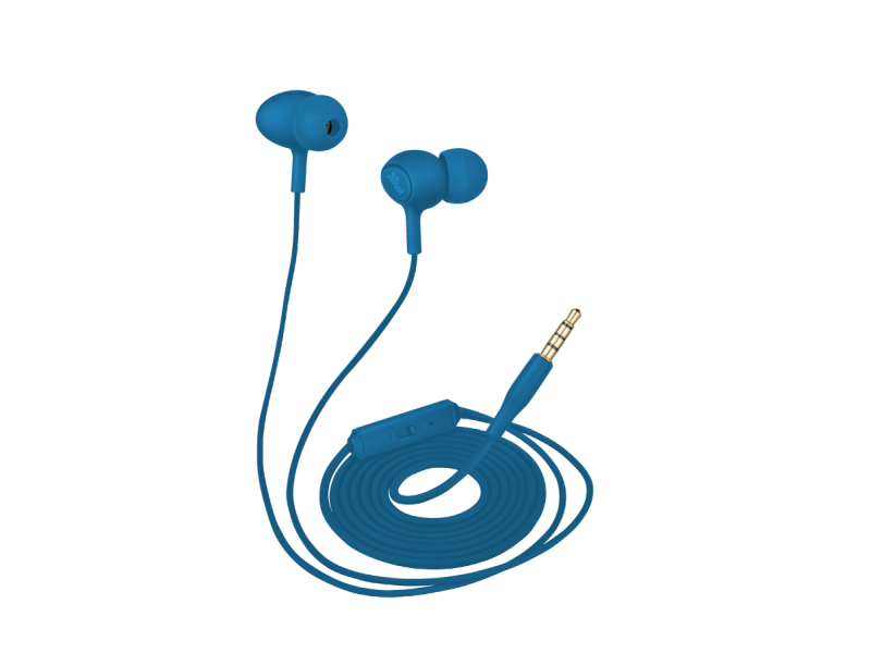 Наушники с микрофоном Trust Ziva Blue (21951)