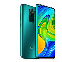 Смартфон ксиоми с нфс чипом,большим дисплеем и 4 камерами Xiaomi Redmi Note 9 NFC 3/64 Green Octa-core ЕВРОПА