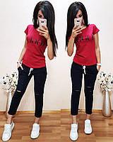 Легкая удобная женская футболка Vogue S/M/L/XL, фото 1