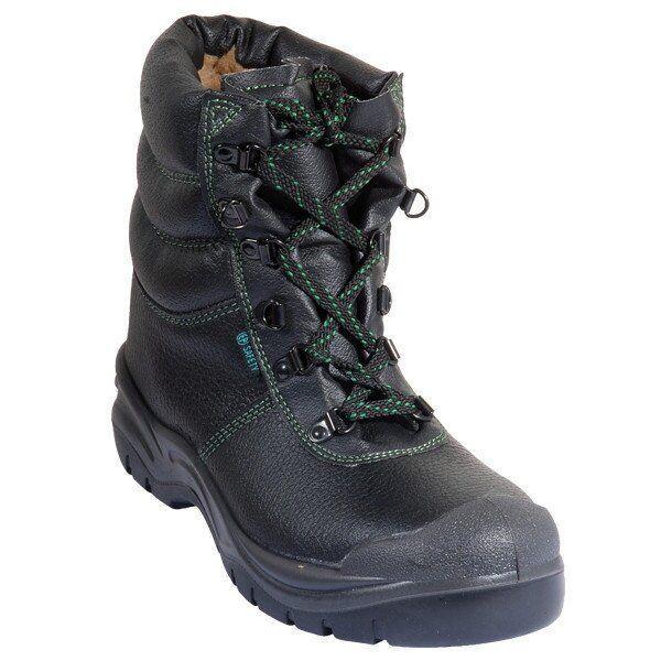 Ботинки утепленные кожаные MUSCOVITE HIGH, S3 40