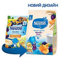 Каша молочна рисова Nestle зі сливою та абрикосом, 6+, 230г