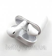Беспроводные Bluetooth наушники HBQ I9S-Plus TWS V5,0 с кейсом и чехлом White, фото 3