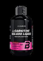 Л-карнитин BioTech L-Carnitine 100 000 (500 мл) биотеч яблоко