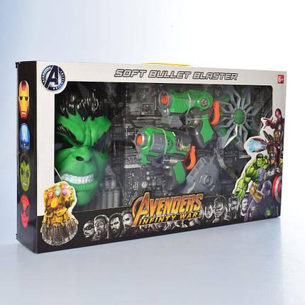 Ігровий набір Халк і зброєю ОПТ Avenger Месники, фото 2
