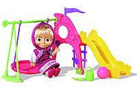 Игровой набор Simba Кукла Маша с детской игровой площадкой из из мультфильма Маша и Медведь SKL52-241118