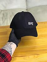 Кепка бейсболка мужская UFC ЮФС (черный цвет)