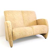 """М'який нерозкладний диван для офісу, залу очікування, HoReCa """"Ліон"""" для 2-х осіб"""