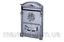Почтовый ящик Vita - роза (черный)