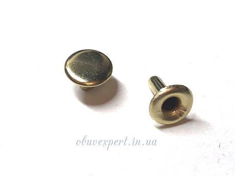 Хольнитен односторонний  11,7 мм Золото (500 шт), фото 2