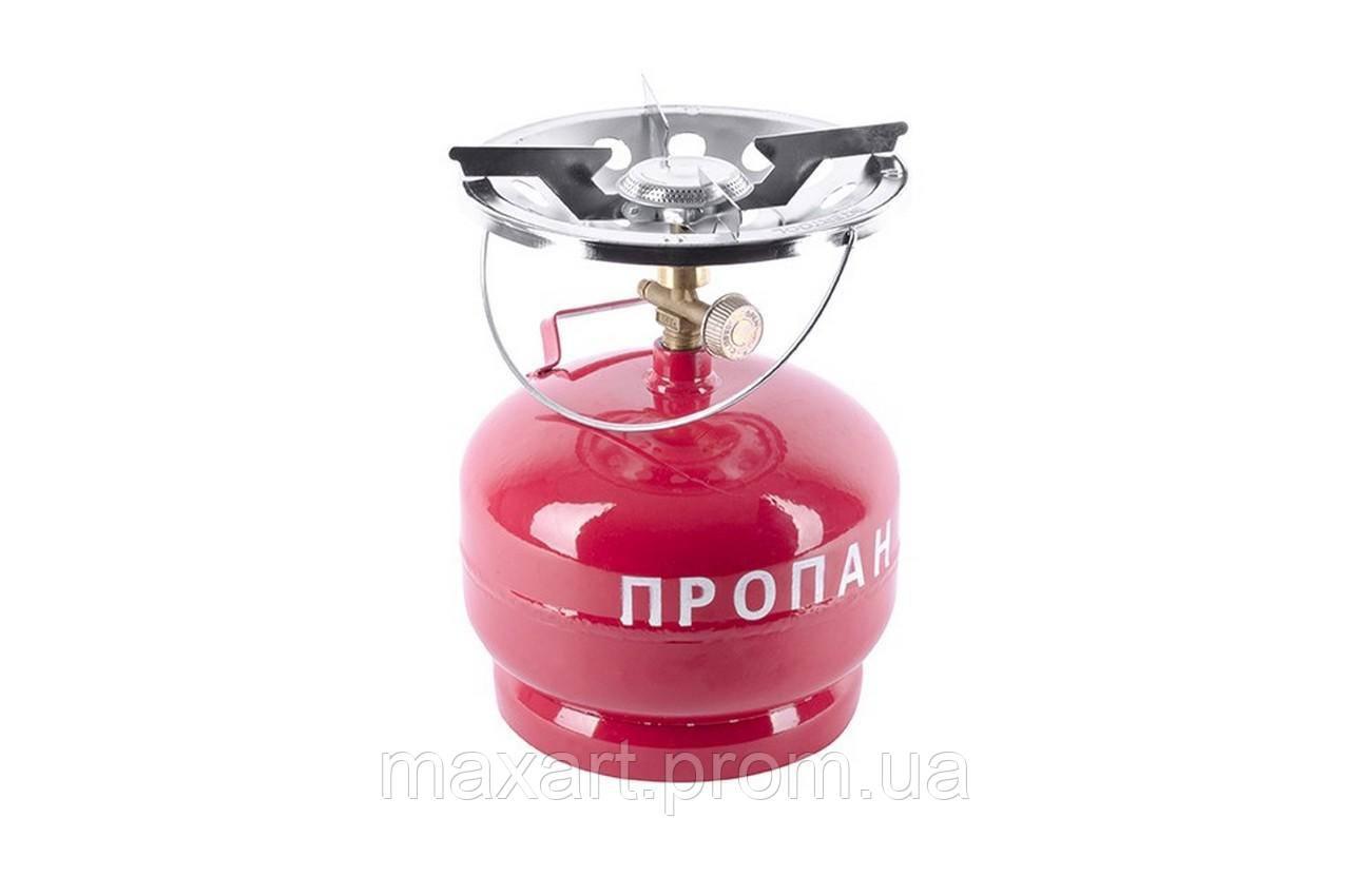 Плита Турист Intertool - пропановый баллон 5 л