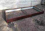 Бордюр для грядок оцинкованный Mavens, коричневый, 120 х 480 х 38 см, (04-0018), фото 4