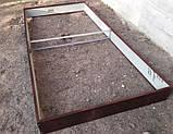 Бордюр для грядок оцинкованный Mavens, коричневый, 120 х 480 х 38 см, (04-0018), фото 6