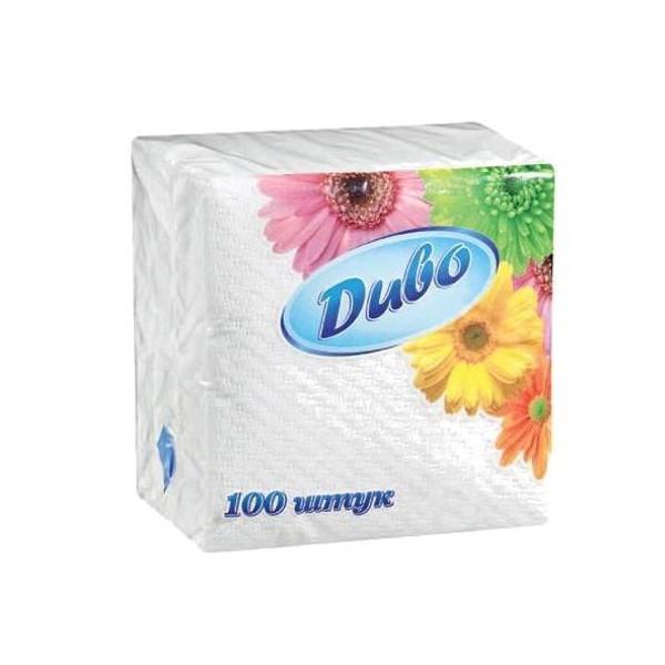 Салфетки «Диво» белые 100 шт