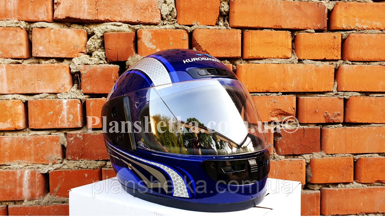 Шолом для мотоцикла Hel-Met 101 синій