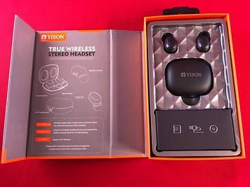 Наушники беспроводные Yison TWS-T4