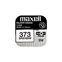 Часовая батарейка Maxell 373 / SR 916 SW (1шт.)