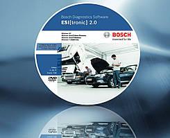 Сервисно-информационное программное обеспечение BOSCH, ESI[tronic] 2.0
