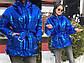 """Женская зимняя короткая куртка 1075 """"Плащёвка Металлик Капюшон Пояс"""" в расцветках, фото 2"""