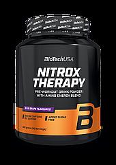 Предтреник BioTech Nitrox Therapy (680 г) биотеч нитрокс blue grape