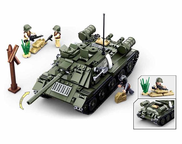"""Конструктор Sluban M38-B0689 """"Танк 2 в 1"""" из серии """"Армия"""" купить"""