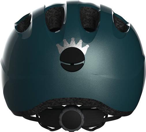 Велосипедний дитячий шолом ABUS SMILEY 2.0 S 45-50 Royal Green, фото 2